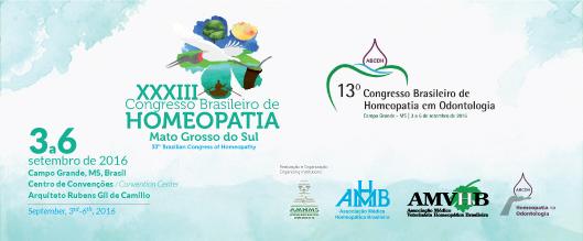 XXXIII Congresso Brasileiro de Homeopatia