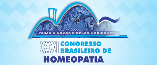 ANAIS DO XXXI CONGRESSO BRASILEIRO DE HOMEOPATIA