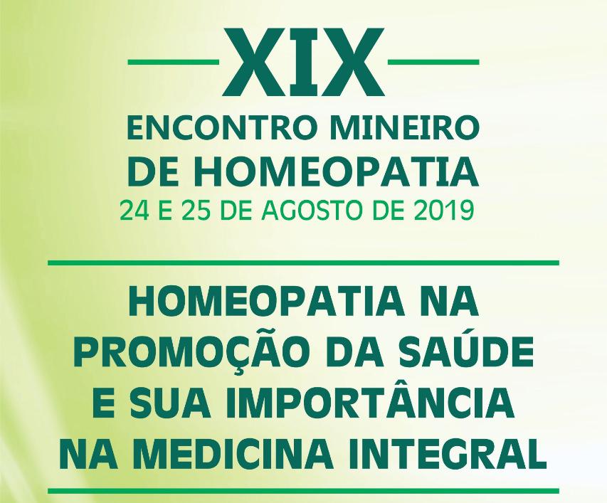 XIX Encontro Mineiro de Homeopatia