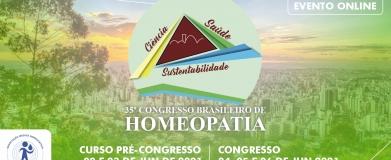 35º Congresso Brasileiro de Homeopatia
