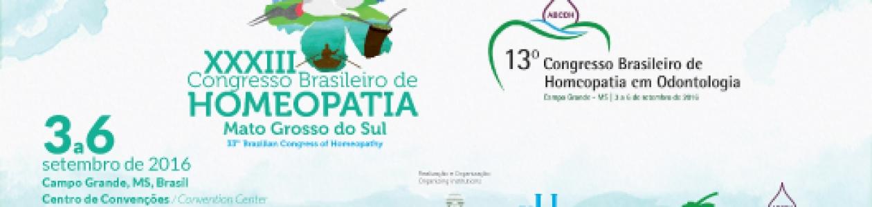 Congresso Brasileiro de Homeopatia